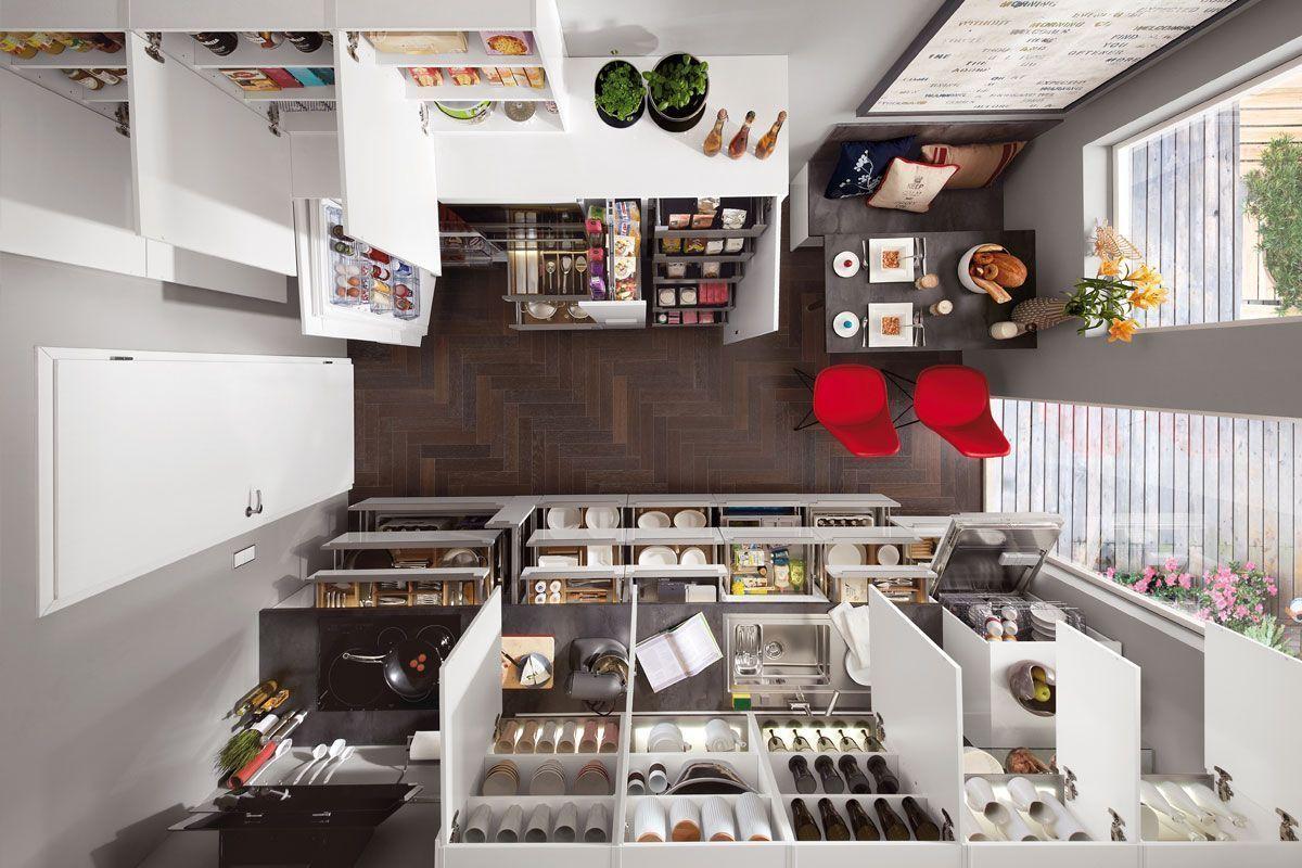Ideas para almacenaje en tu cocina cocinas kuchenhouse - Botes almacenaje cocina ...