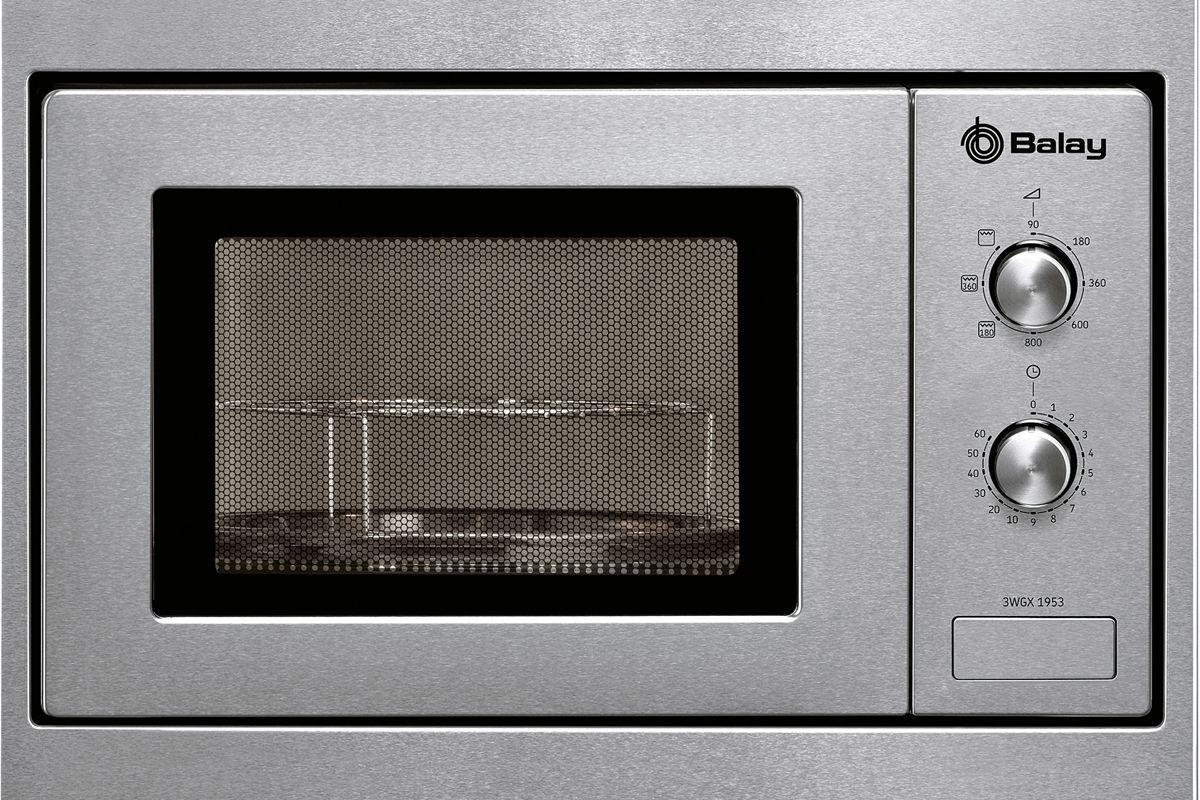 Kuchenhouse: microondas Balay con marco