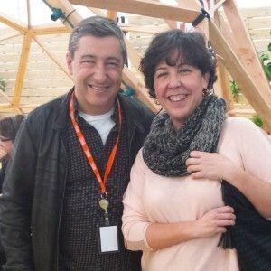 Pilar Criado de Les receptes que m'agraden. Hablamos con... Entrevistas Kuchen House. Pilar con Joan Roca