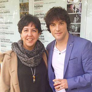 Pilar Criado de Les receptes que m'agraden. Hablamos con... Entrevistas Kuchen House. Pilar con Jordi Cruz