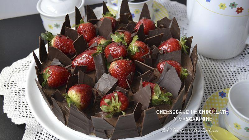 Cheesecake de Chocolate y Mascarpone de El Paraíso de los Golosos |Kuchen House Cocinas | Recetas | KH al Dia | Cocinas Alemanas | TecnoDiseño