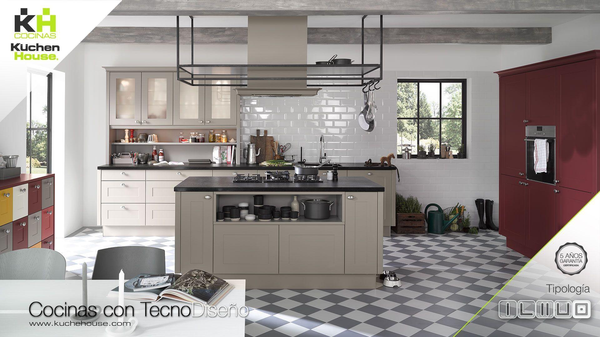 Cocina en Isla - KuchenHouse - Reformas - Armarios - Hogar