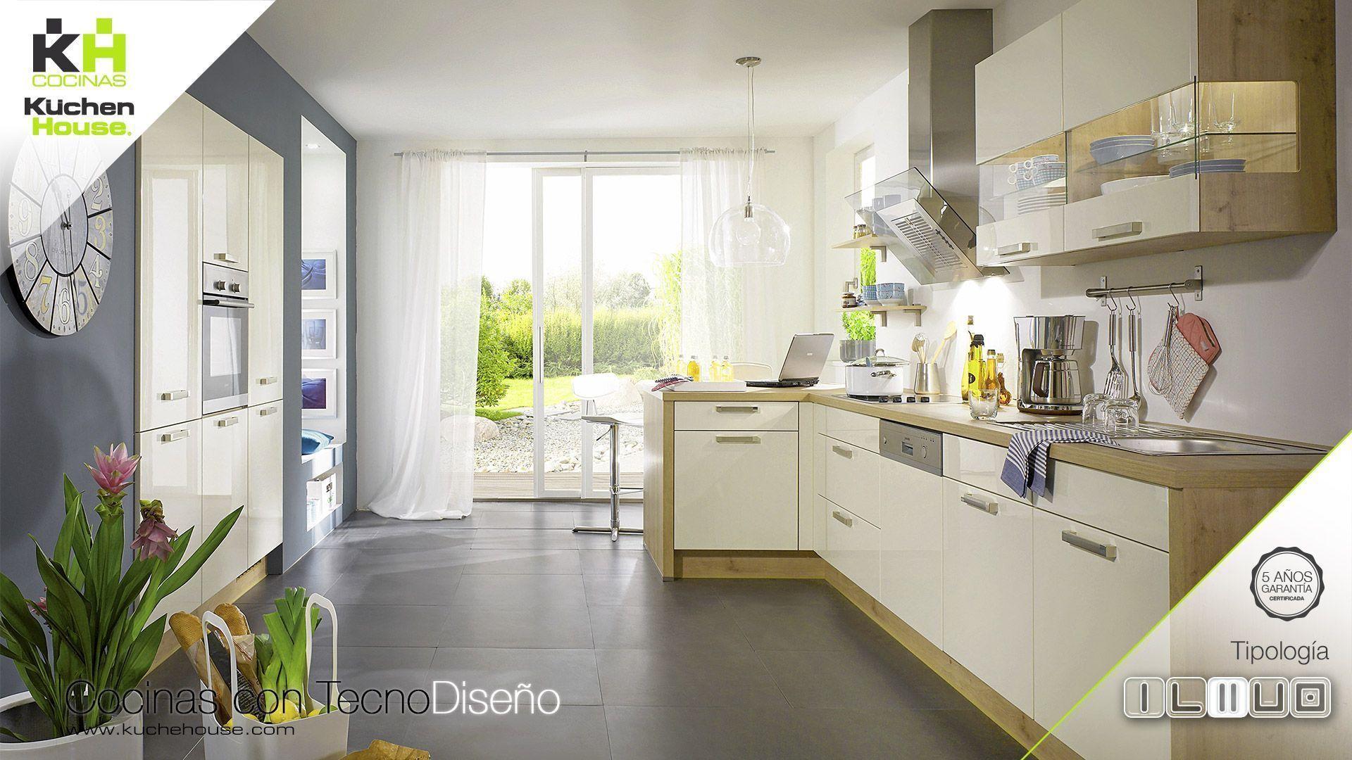 Cocinas estrechas y largas trendy trucos para decorar for Cocinas en paralelo