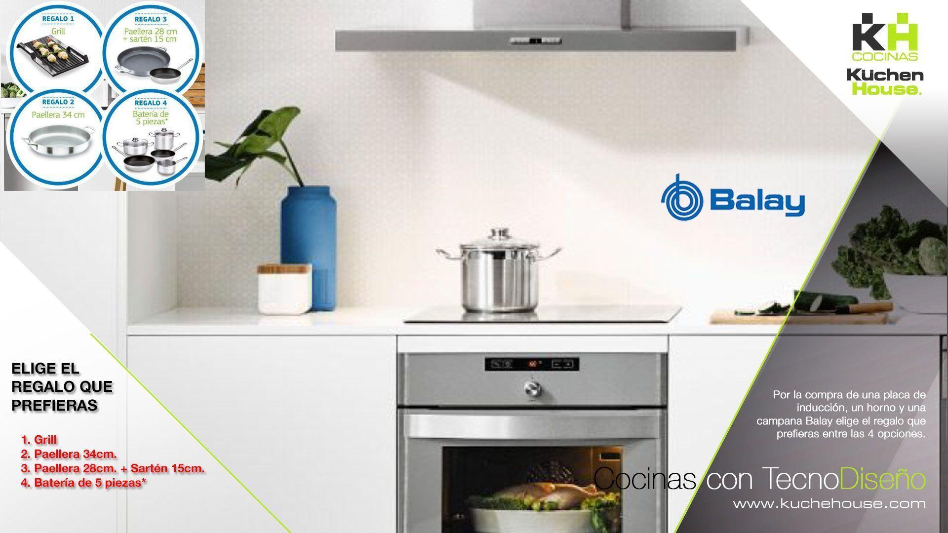 Elige tu regalo con nuestros electrodomésticos Balay - KuchenHouse - Reformas - Armarios - Hogar
