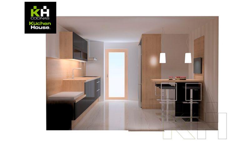 Algunas ideas para decorar cocinas con pocos metros Cocinas