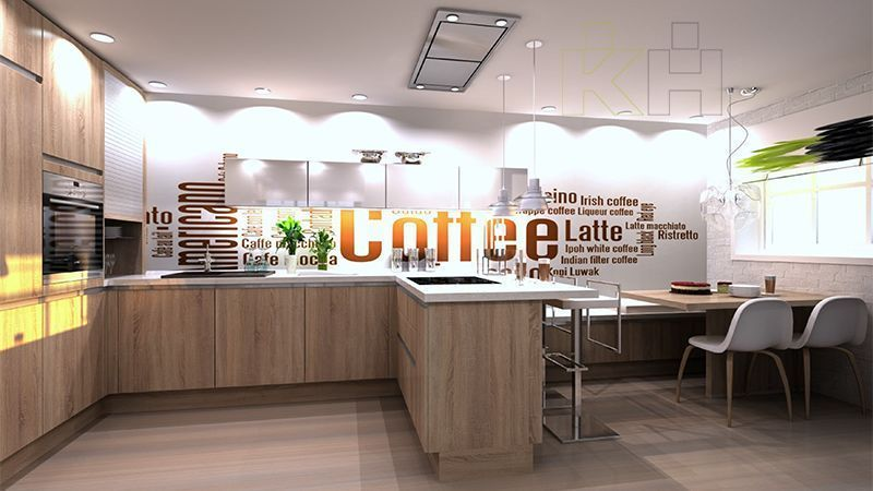 De una idea a una moderna cocina k chenhouse cocinas for Cocinas de diseno precios