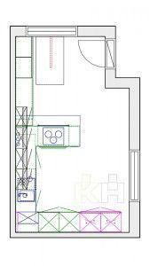De una idea a tu cocina. Plano inicial | Render KüchenHouse Cocinas | Novedades en mobiliario de cocinas | Catálogo de cocinas | Ideas de decoración | Cocinas de Diseño Modernas | Cocinas Alemanas a precio de fábrica