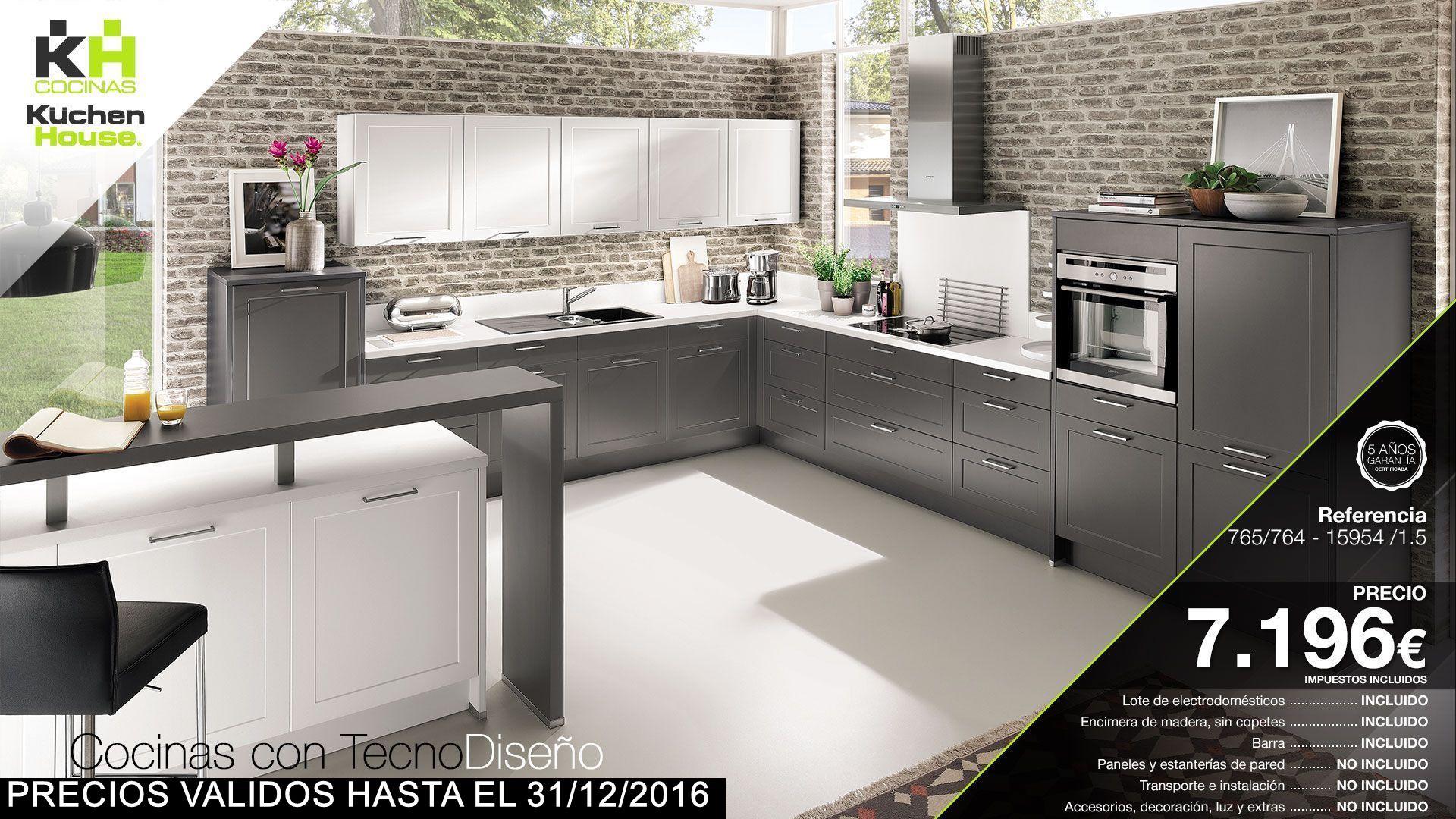Cocinas with cocinas interesting muebles santos pamplona for Muebles de cocina kuchen