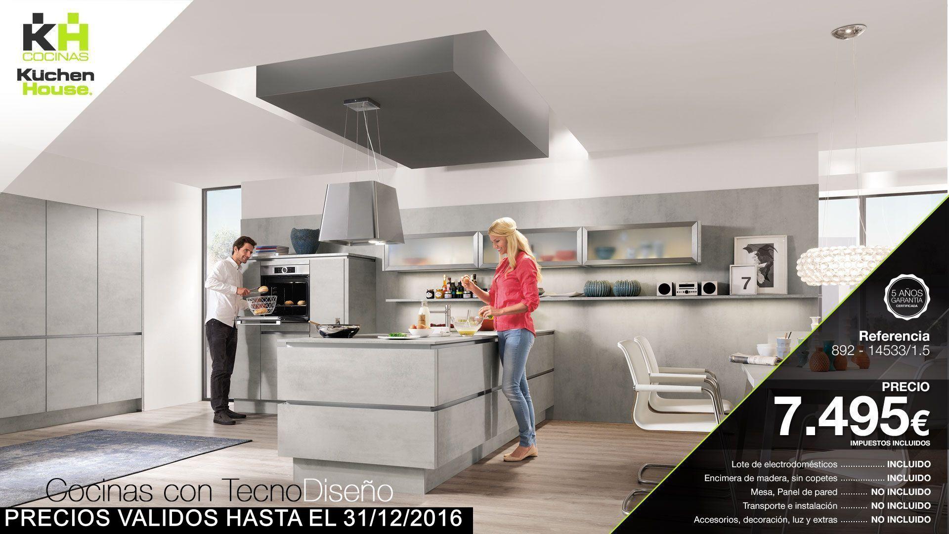 Cocina Kuchen House. Colección Novedades 2016 Riva 892-14533-1/5 - Cocinas Alemanas | TecnoDiseño | Calidad Alemana