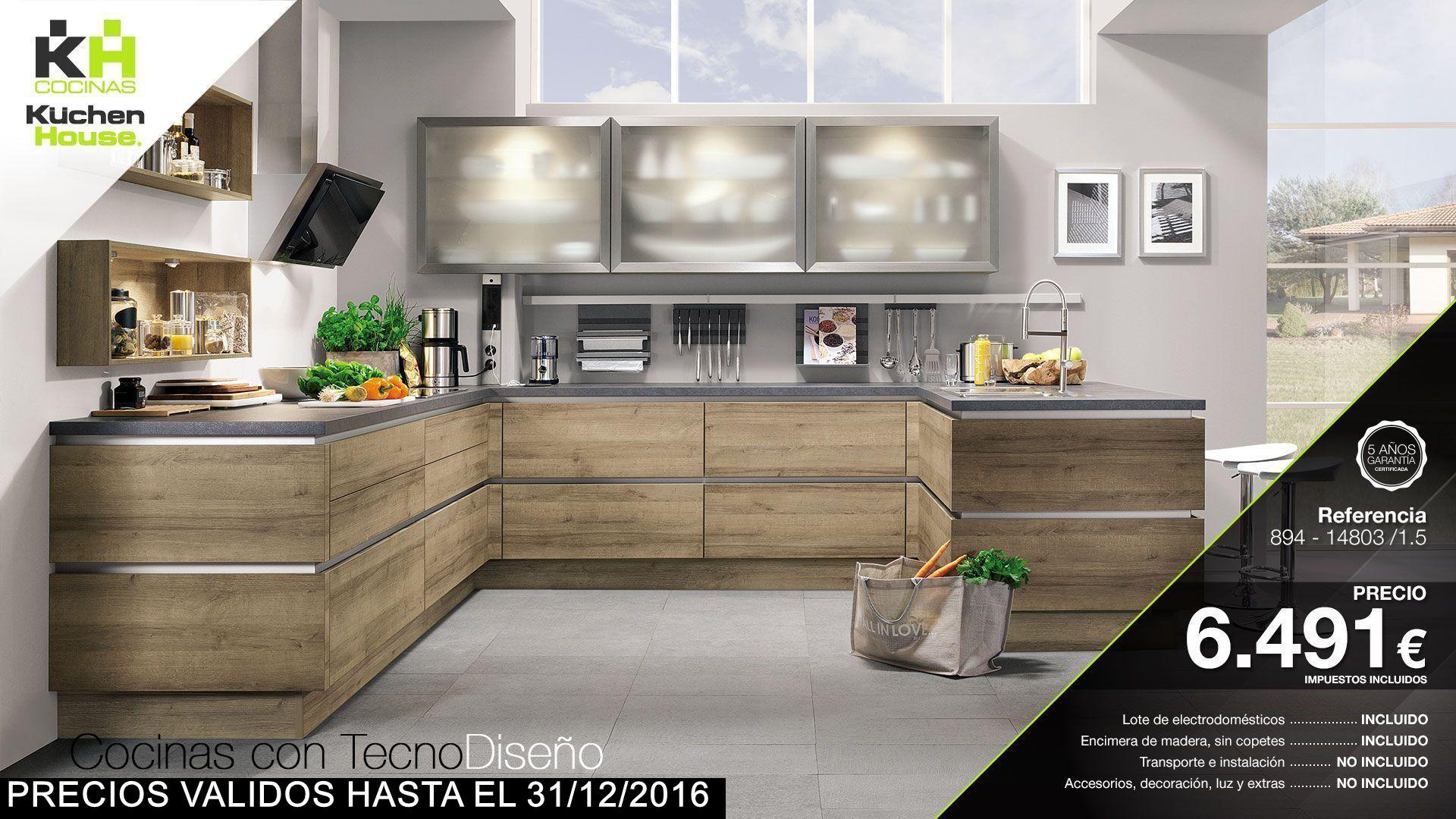 Catalogo de cocinas cocinas kuchenhouse for Follando cocina