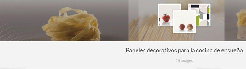 Paneles decorativos de las Cocinas Kuchen House | Colección 2016 | Cocinas Alemanas | Hornacinas | Revestimientos