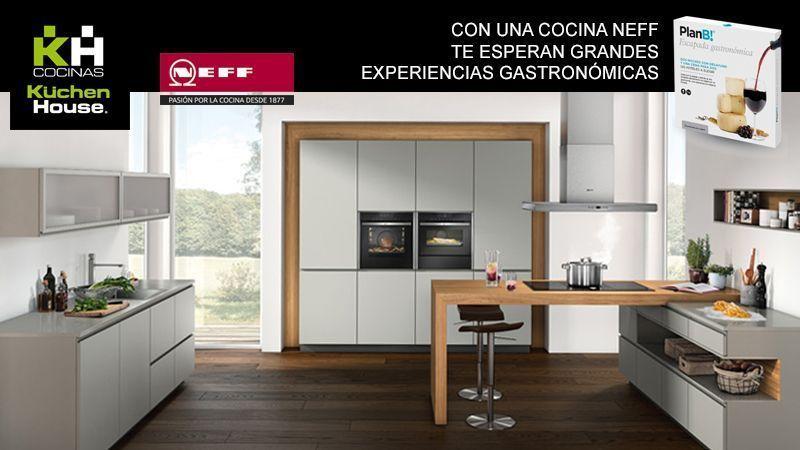 Promoción - Vive una experiencia gastronómica con Neff y KuchenHouse Cocinas
