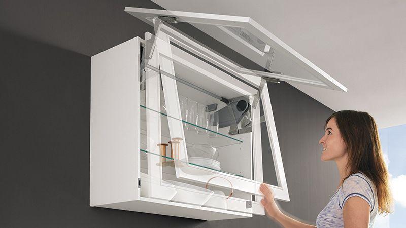 Top3. Sin esfuerzo y sin complicaciones. Nuevo sistema de apertura Servo-Drive para mueble alto