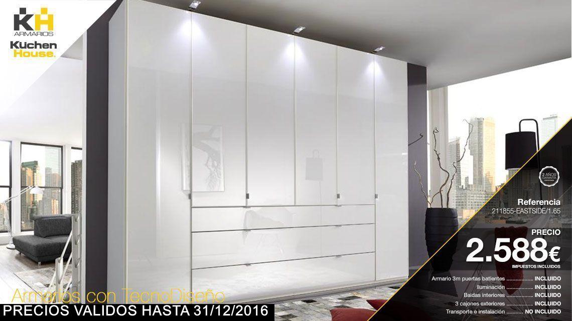 Armarios Kuchen House. Modelo 211855-EASTSIDE/1.65 del Catálogo 2016