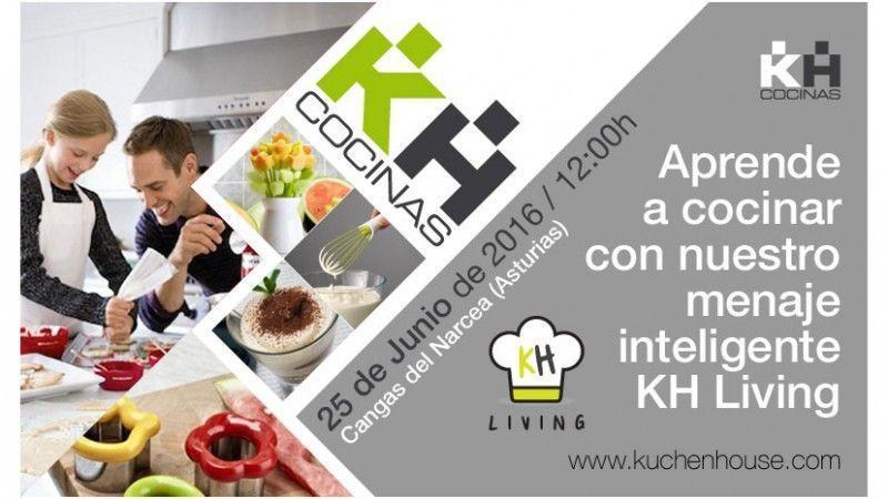 Aprende a cocinar con nuestro menaje inteligente KH Living   Taller de cocina Kuchen House.