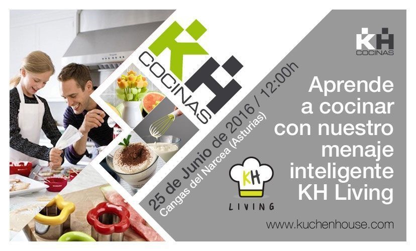 Aprende a cocinar con nuestro menaje inteligente KH Living | Taller de cocina Kuchen House.