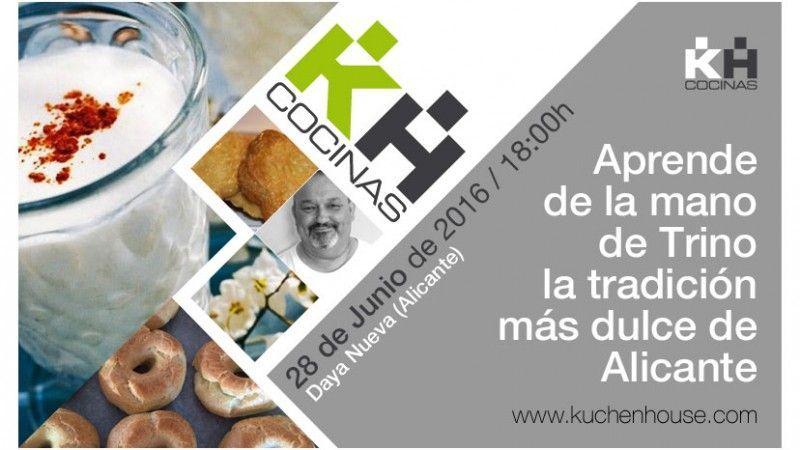 Aprende de la mano de Trino la tradición más dulce de Alicante | Taller de cocina Kuchen House.