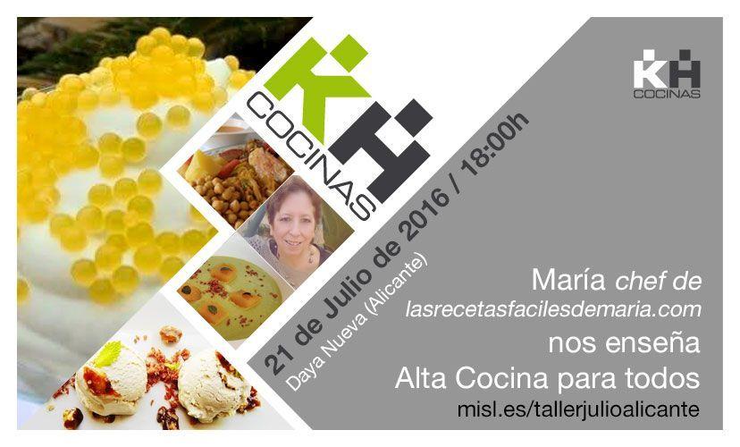 Cocinas kuchenhouse aprende con mar a alta cocina para for Cosina para todos