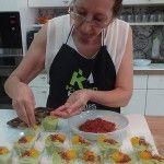 Crema de Guisantes y Gelée de Naranjas de Las Recetas Fáciles de María | Taller de cocina Kuchen House
