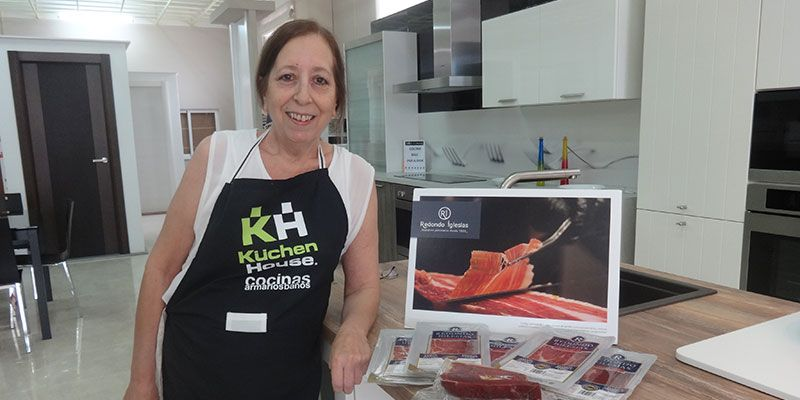 Magistral Kocinando Hoy de María de Las Recetas Fáciles de María en Daya Nueva-Almoradi (Alicante) | Kuchen House Cocinas | Cocinas Alemanas | Cocinas con TecnoDiseño | Armario Aleman