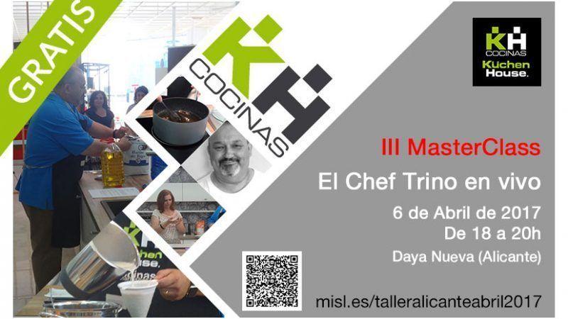 III MasterClass Alicante Kuchenhouse Abril 2017