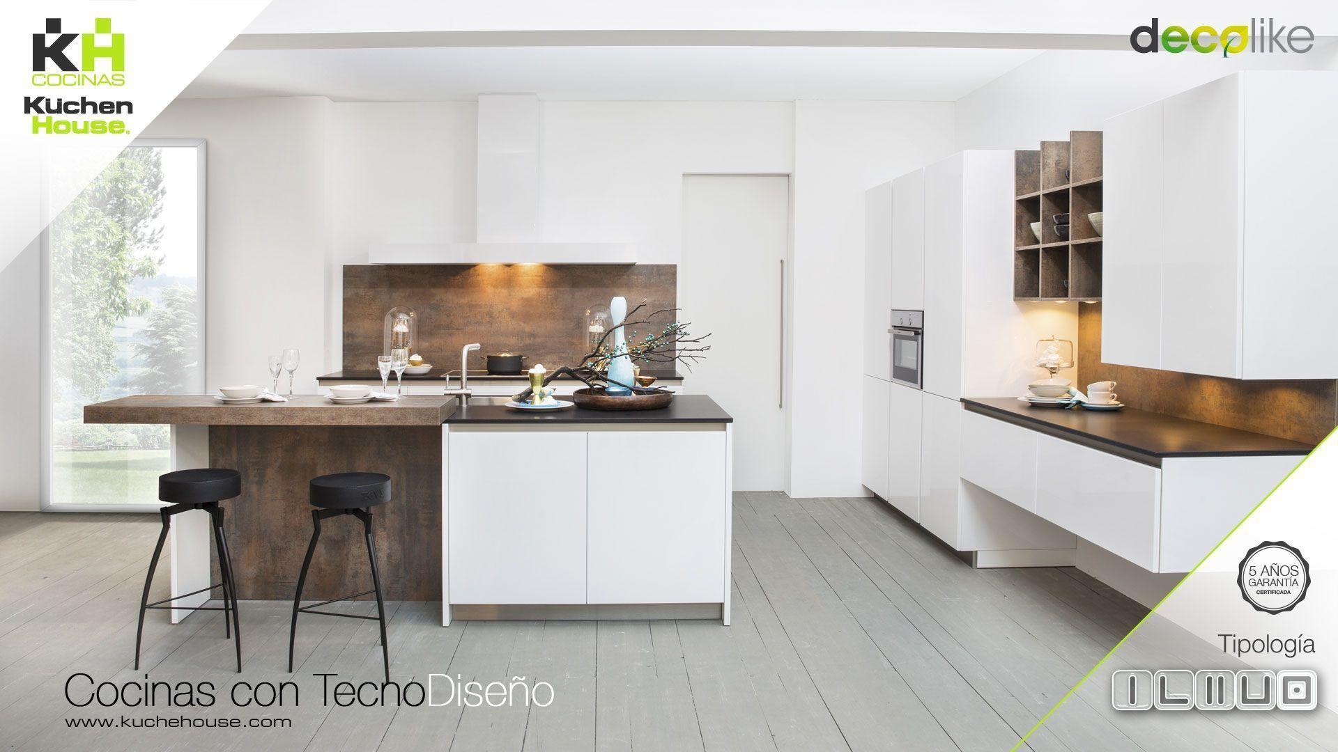 Cocina en Isla - Decolike - KuchenHouse - Reformas - Armarios - Hogar