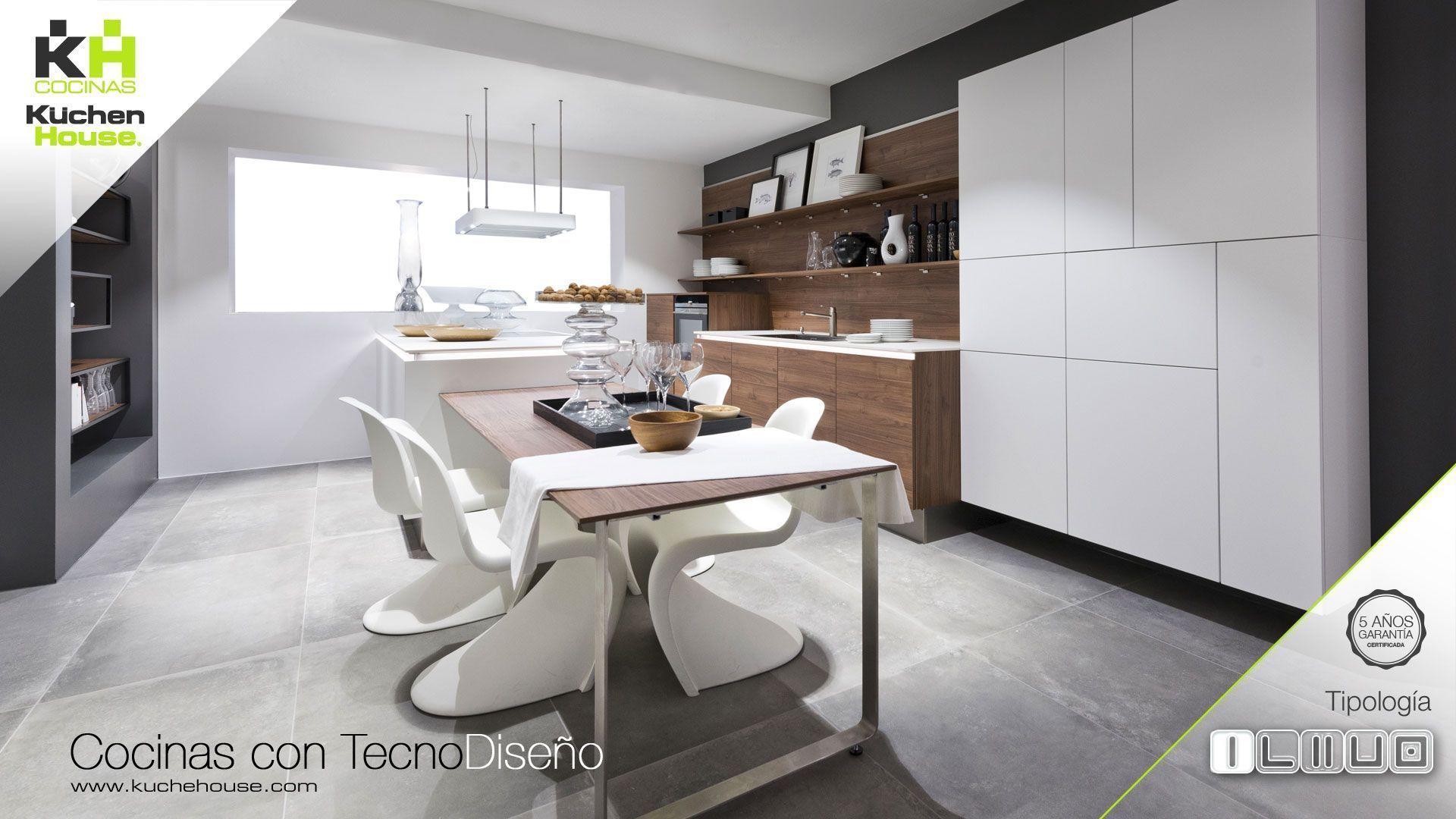 Cocina en Linea - Recta - KuchenHouse - Reformas - Armarios - Hogar