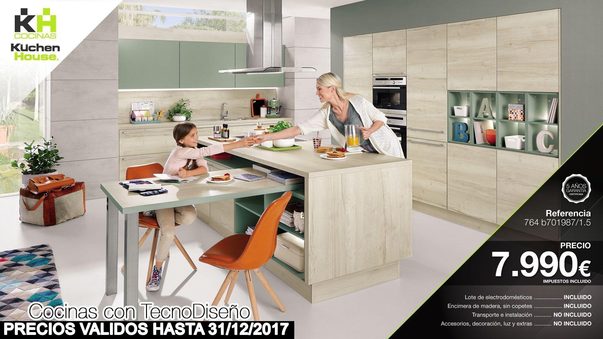 Cocinas KuchenHouse - Oferta - Promoción - Reformas - Armarios - Hogar