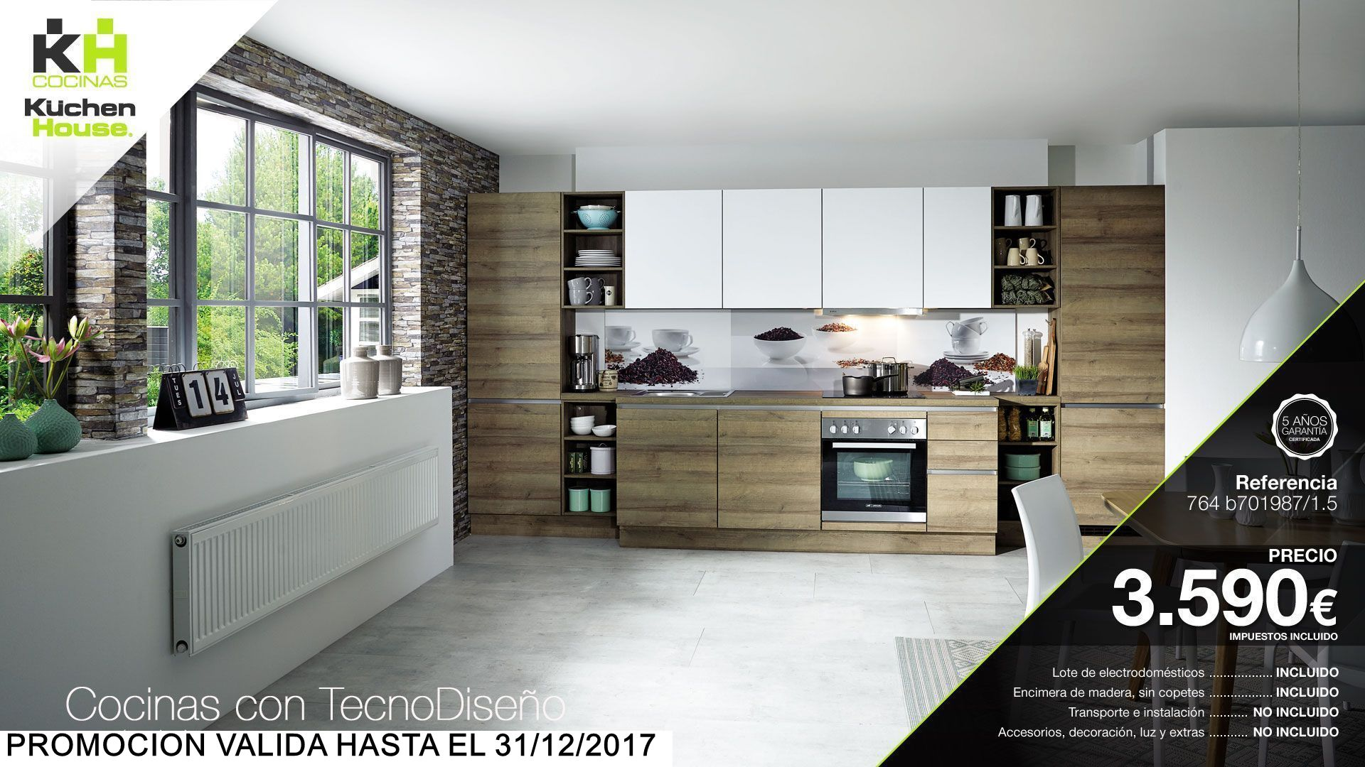 Cocinas kuchenhouse cocinas kuchenhouse oferta for Cocinas en oferta precios