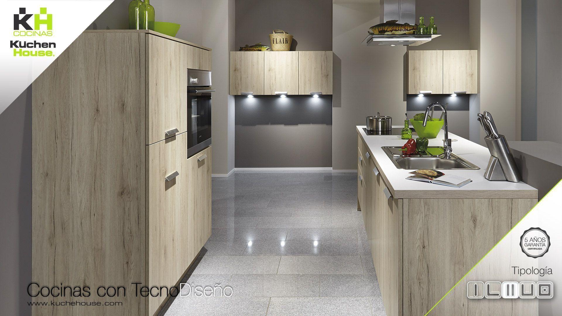 Cocinas kuchenhouse cocina en paralelo kuchenhouse for Cocinas en paralelo