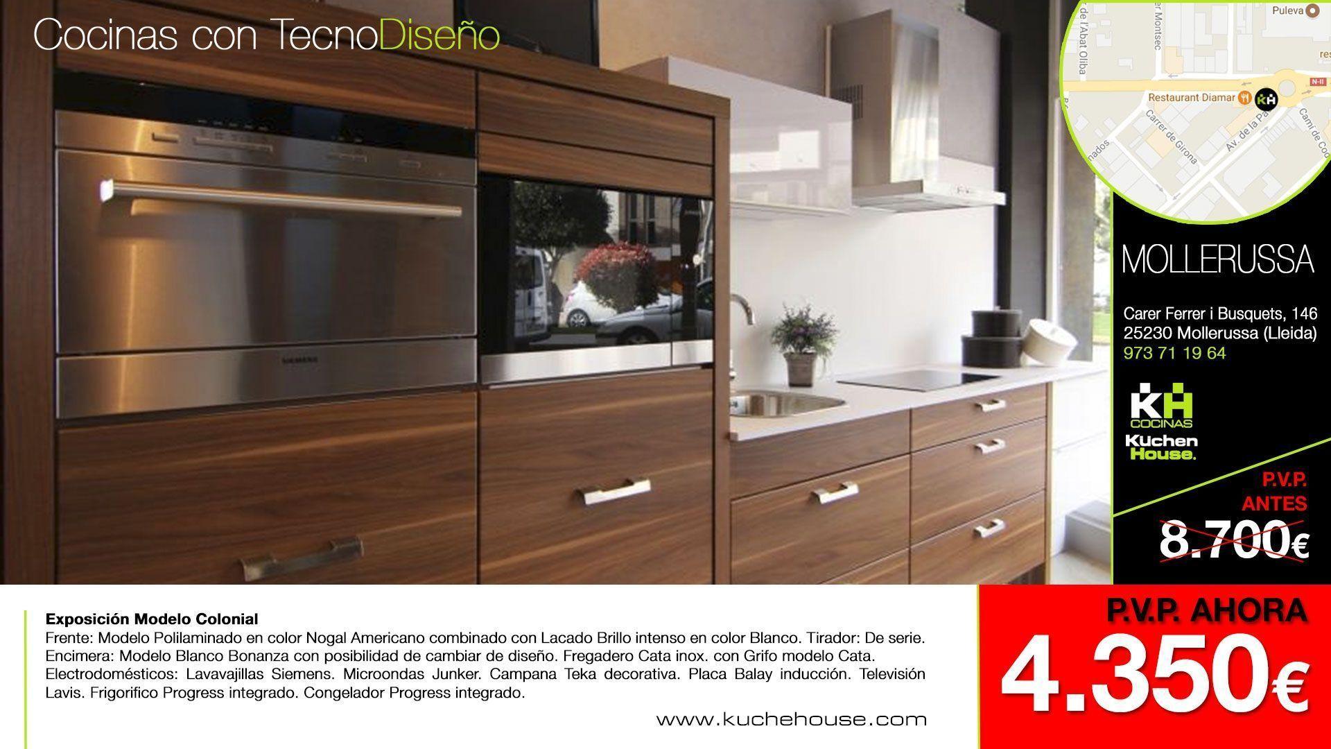 Promociones liquidaciones cocinas 2017 cocinas kuchenhouse for Muebles de cocina alemanes