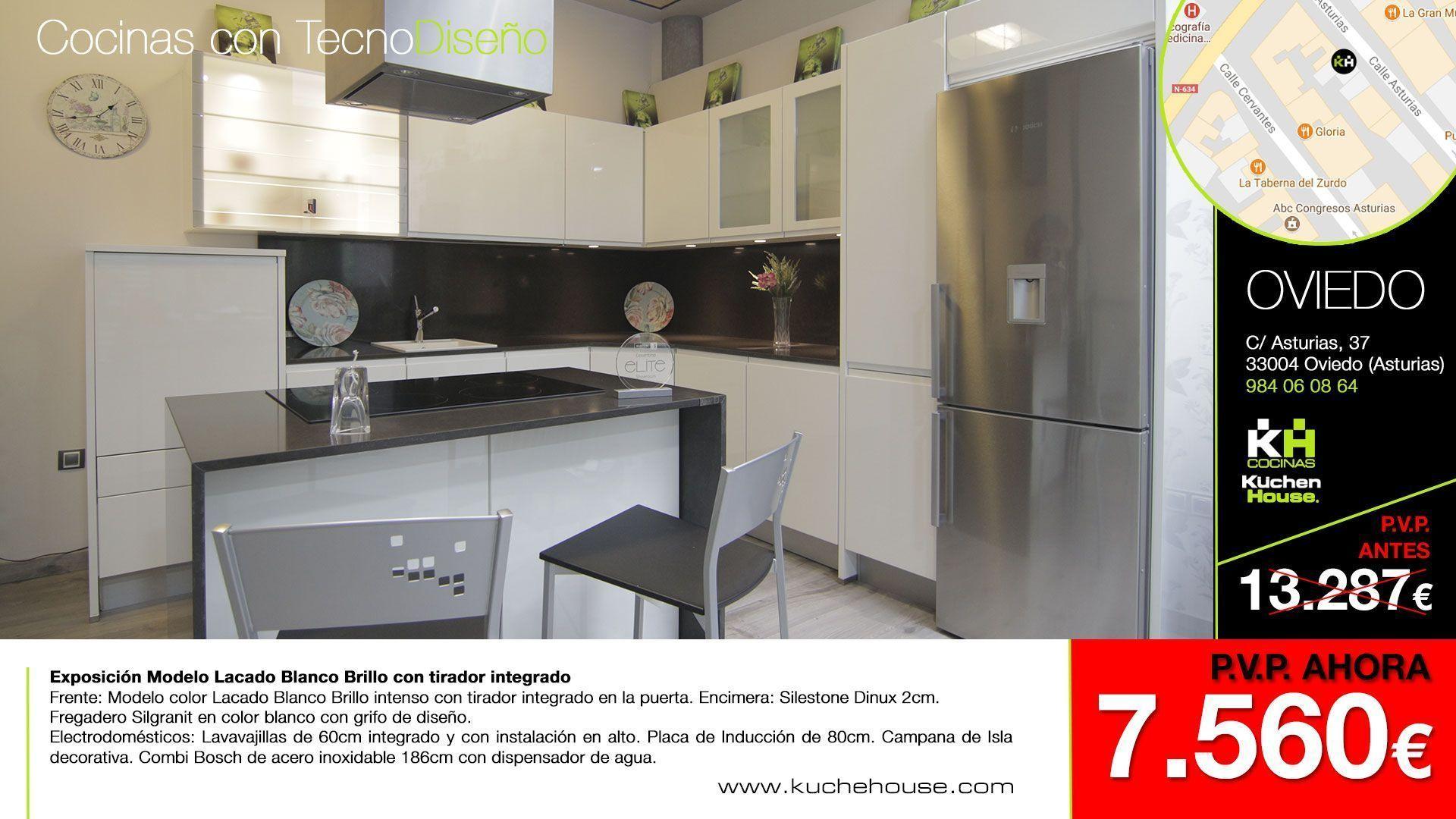 Cocinas asturias paneles led para cocinas best of tiras - Reformas de cocinas en oviedo ...