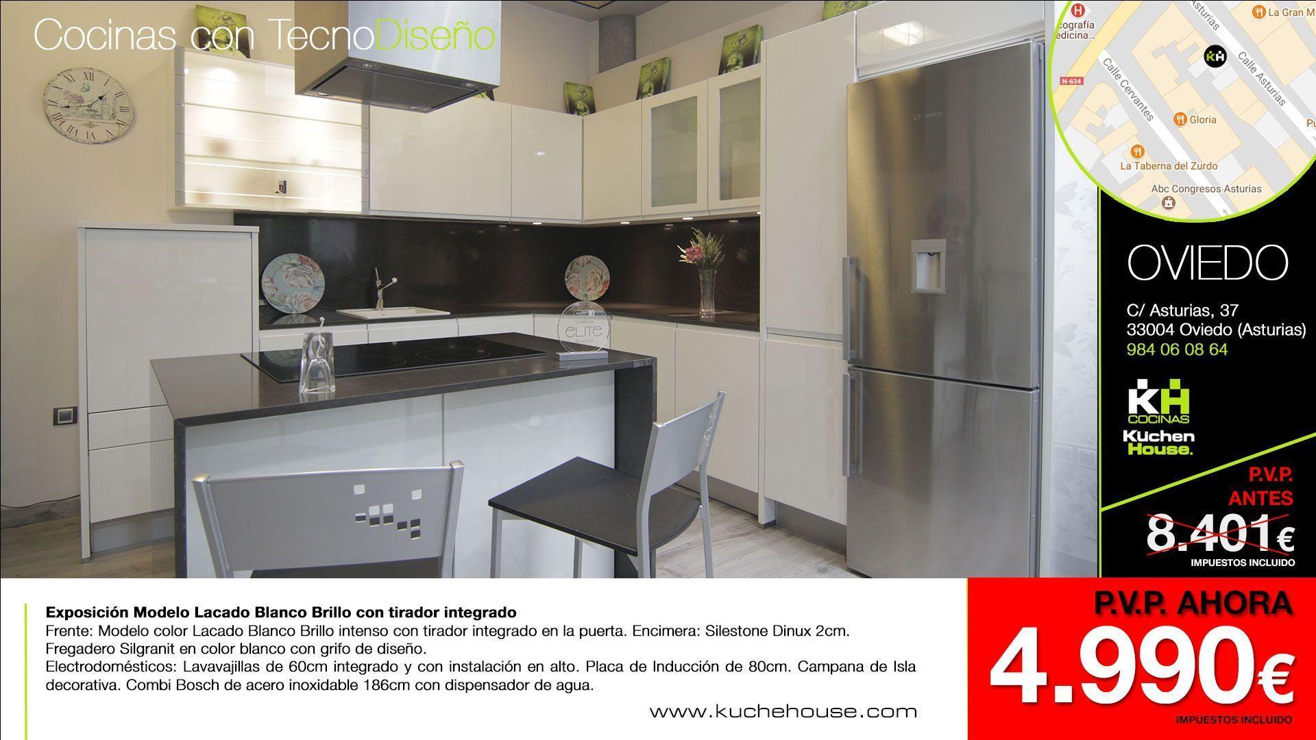 Promociones liquidaciones cocinas 2017 cocinas kuchenhouse - Muebles de cocina alemanes ...