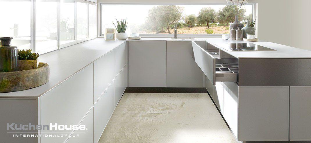 Küchenhouse Cocinas Cocinas Modernas Alemanas De Diseño